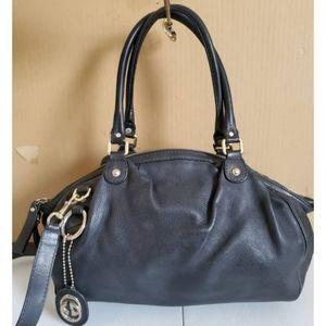 Gucci Boston Sukey Bag Black Leather